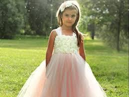 Wedding Dresses For Kids Best Fashion For Kids Flower Dresses For Birtday