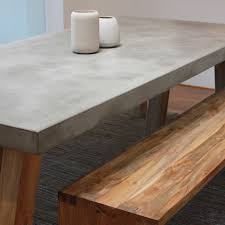 cement table and bench residential and collection dining table obi 10 funky couple