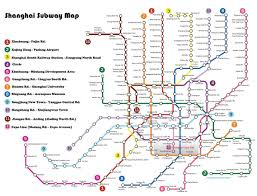 Manhattan Map Subway by Shanghai Subway Map My Blog