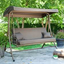 Swing Bed With Canopy Deluxe Patio Swing Daybed With Canopy Costco Home Outdoor Decoration