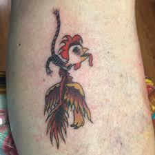 chicken tattoo by lumpy u2013 lefty u0027s tattoo company colorado springs