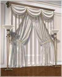 Silver Valance Classic Curtains Set1 3d Models Grayclouddesign