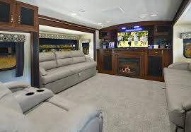 5th wheel front living room marvelous interior trend from used fifth wheel rv with front