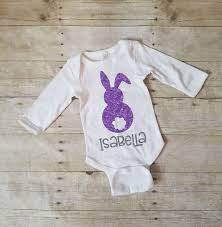 personalized easter bunny bunny shirt my 1st easter onesie personalized easter shirt