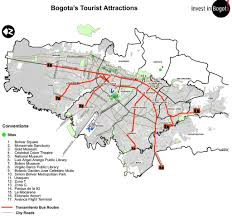 Zip Code Map San Jose by Bogota Tourist Map Maplets