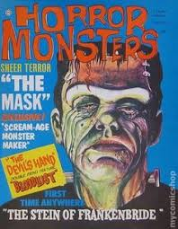 1964 topstone monster mask ad blood curdling blog of monster