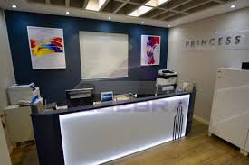 custom made reception desk custom made reception desk for princess tower algebra contracting
