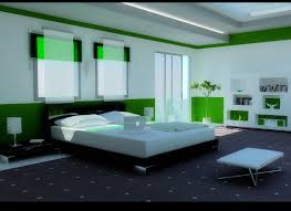Green Color Bedrooms - Bedroom design pic