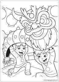 chinese dragon coloring pages easy chinese new year dragon coloring page new year dragon coloring page