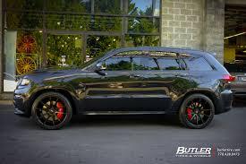 srt jeep custom jeep grand cherokee custom wheels savini bm12 22x et tire size