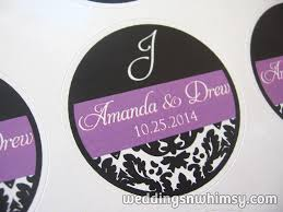 wedding favor labels favor tags