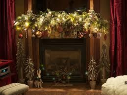 Mantel Decorating Tips Christmas Mantel Decorating Ideas Home Design