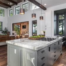 rustic kitchen designs with white cabinets 75 beautiful rustic gray kitchen pictures ideas april