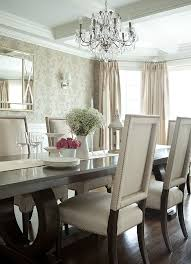 Dining Room Chandeliers Transitional Best 25 Dining Room Wallpaper Ideas On Pinterest Room Wallpaper