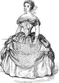 fashion design coloring pages victorian coloring pages of women u0027s dress