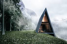 a frame house a frame cliff house uncrate
