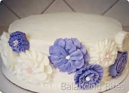 balancing bites a buttercream flower birthday cake