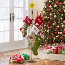 stocking hangers for mantle hanging stockings from a bedpost may metal christmas stocking holder