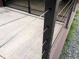 stainless steel deck railing build u2014 railing stairs and kitchen