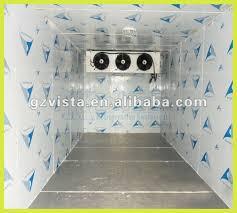 fonctionnement chambre froide chambre froide de large capacité de stockage pour le poisson glace
