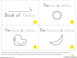printable coloring pages to learn colors the color yellow color yellow worksheets and learning colors