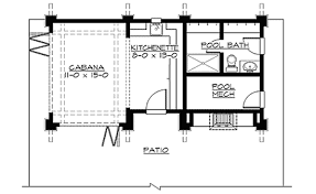 Cabana Plans | mountain cabana with views 23451jd architectural designs house