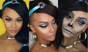 halloween disney princess jasmine classic glam hair zombie