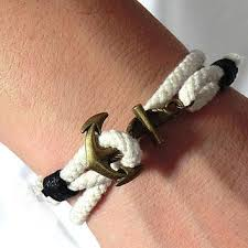 rope bracelet with anchor images Nautical rope anchor rope anchor bracelet luxury paracord bracelet jpg
