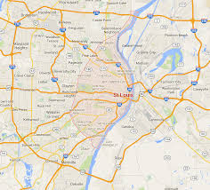 City Of Phoenix Map by A Fresh Look At St Louis And Ferguson