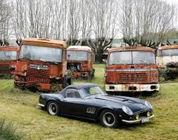 french sports cars artcurial barn find baillon antique sports car collection