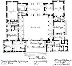 center courtyard house plans interior courtyard house plans plan center courtyard
