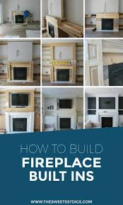 build electric fireplace 55 diy fireplace built in tutorial tutorials living rooms and room