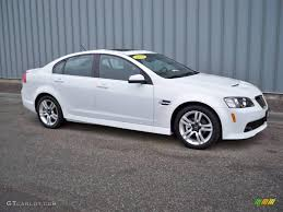 2008 white pontiac g8 2040060 gtcarlot com car color