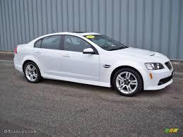 2008 Pontiac G8 Interior 2008 White Pontiac G8 2040060 Gtcarlot Com Car Color