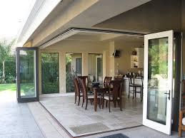 Collapsible Patio Doors Gallery Folding Glass Doors Folding Glass Doors For Home All