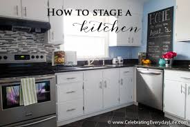 How To Decorate A Kitchen How To Stage A Kitchen Celebrating Everyday Life With Jennifer