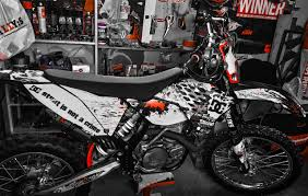 if you are looking for graphics fitting to your bike and also to
