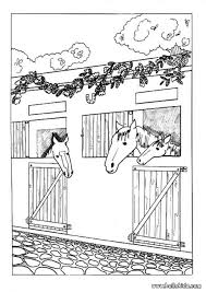 horse rider coloring pages hellokids
