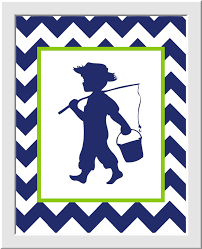 Navy Blue Bathroom by Blue Bathroom Wall Art Printable Fishing Boy Nursery Wall Art
