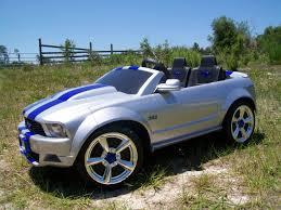 barbie corvette silver modified power wheels custom built silver bullet mustang pt 1