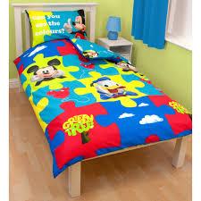 piumone per bambini bambini disney di copripiumino per letto singolo set biancheria