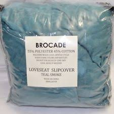 Teal Couch Slipcover French Country Furniture Slipcovers Ebay