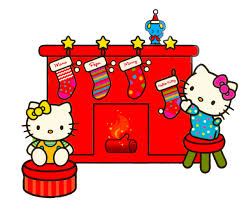 kitty christmas clipart clipartxtras