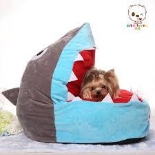 Small House Dogs Aliexpress Com Buy Cute Funny Cartoon Shark Cat Dog House Sofa