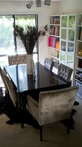 furniture beautiful dining room design ideas with peacock feather