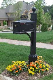 decorative mailbox post creative and decorative mailboxes do it