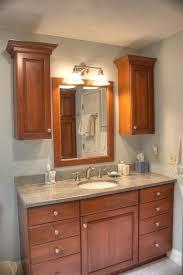 cherry wood bathroom mirror small kitchen design with cherry wood cabinets wood bathroom