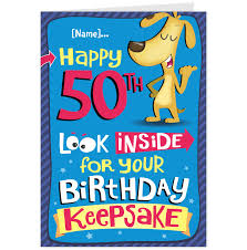 funny 50th birthday cards for women