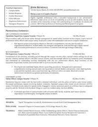 Security Guard Resume Example by Police Officer Resume Examples No Experience If You Want To Become