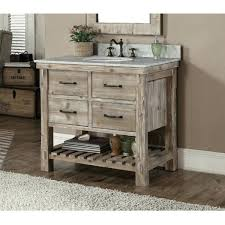 36 bathroom vanity base cabinet with drawers on left single set